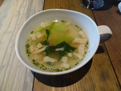 Bランチのスープ