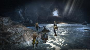 蒼の洞窟入口