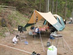 【必見キャンプ生活】 【初めてファミリーキャンプ(ファミキャン)】森の隠れ家ビッグホーンオートキャンプ場