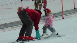 八千穂高原スキー場スクール幼児もすぐ上達