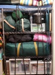【必見キャンプ生活】 キャンプ道具を整理する♪道具の断捨離!
