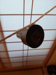 【必見キャンプ生活】 自作キャンプ道具ロープ取付けソーラー発電LEDライト開発♪