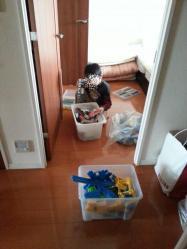 【こだわり収納術】 マンション収納場所作り子供のおもちゃ整理玩具を買い取ってもらう♪