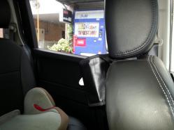 【車快適生活】 車内小物収納ティッシュペーパー置場の課題(ホンダフリード)
