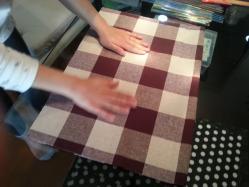 手作りランチマット