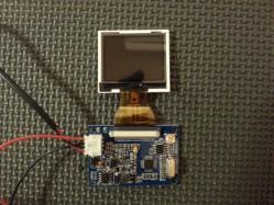 【車快適生活】 超小型液晶モニター(2.5インチ)をDIYで取付け
