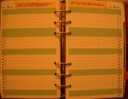 手帳自作リフィル