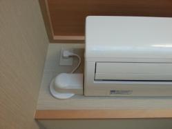 【DIYとインテリア生活】 マンションDIYインテリアを損なわないエアコン室内用配管♪