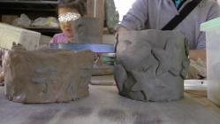陶芸 恐竜
