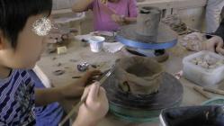 子供と陶芸体験