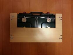 【必見キャンプ生活】 コールマンツーバーナー用置き台DIY製作!置き台兼カバー