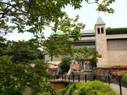 椿山荘の日本庭園
