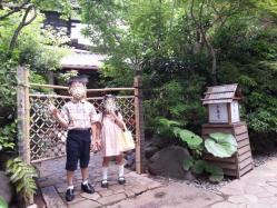 椿山荘「木春堂」の入り口