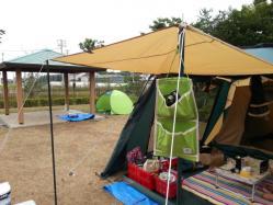 【必見キャンプ生活】 キャンプの小物入れ懐中電灯や鍵の置場♪