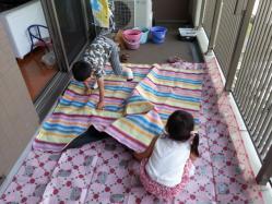 【必見キャンプ生活】 マンションで「キャンプ風ベランダアウトドア」!ベランダでキャンプ気分を味わう♪