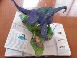 【子供と遊ぶ】 ダイナソー/太古の世界恐竜時代飛び出す絵本♪子供のプレゼントにおすすめ♪