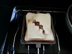 【必見キャンプ生活】 最高にうまい自作カレーペースト入り「絶品ホットサンド」で朝食♪