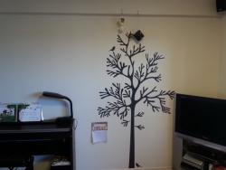 【DIYとインテリア生活】 ウォールステッカー型クリスマスツリーを自作DIYする♪IKEAデコレーションステッカー「MOSSEN」を活用!