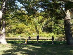 【必見キャンプ生活】 北軽井沢のキャンプ場:クリオフィールドに行った♪子供遊び場が充実♪