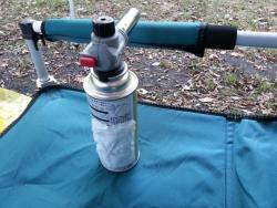 【必見キャンプ生活】 秋キャンプで気温が低いとき、ガスボンベが使えない!