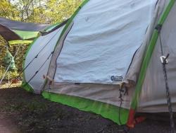 【必見キャンプ生活】 2secondsケシュアテントのまだある便利機能(換気/小物入れ機能)を紹介♫