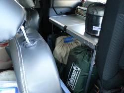 フリードへのキャンプ道具の積み方
