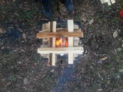 【必見キャンプ生活】 キャンプ焚き火で初めて焼き芋を作る!試行錯誤の結果・・・