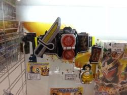 【子供と遊ぶ】 トイザラス店頭で発見!DX戦極ドライバー:鎧武&バロンセット♪