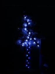 ウォールステッカーでクリスマスツリー(照明無し)①