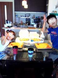 【子供と遊ぶ】 子供夏休み企画♪ドミノピザでピザ作り体験!