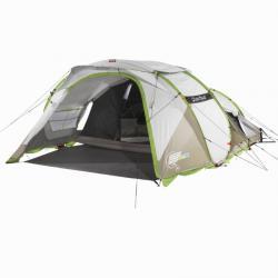 【必見キャンプ生活】 雨の日も「ケシュア2SECONDXXLIIIIILLUMINFRESH」でキャンプへ行こう♪浸水しない、雨漏りしない、倒壊しかないを検証♪