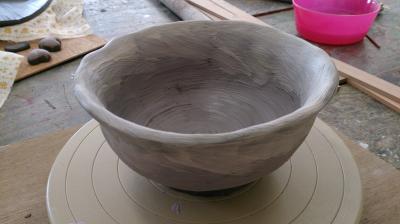 陶芸教室・私の茶わん