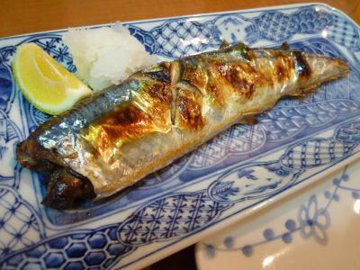 今日のごはん・秋刀魚