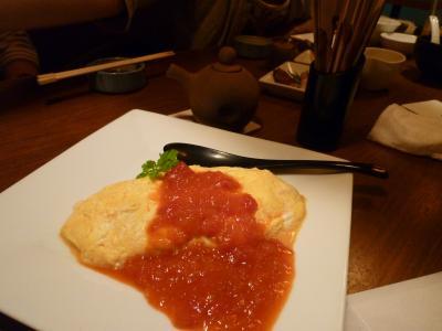 焼助・ささみとチーズのオムレツ