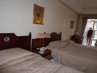 ホテルヨーロッパの部屋
