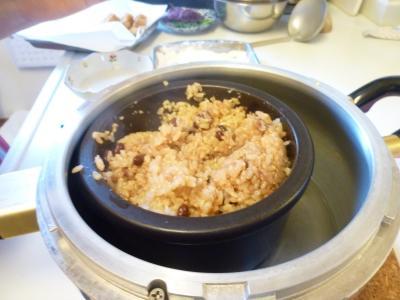 手作り味噌講座・あづき玄米