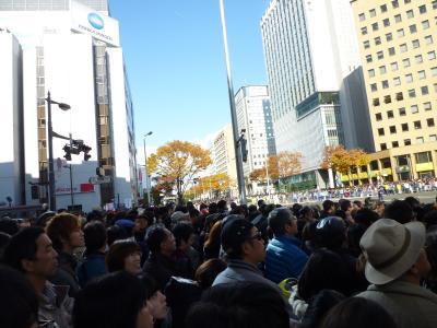 楽天日本一優勝パレード♪