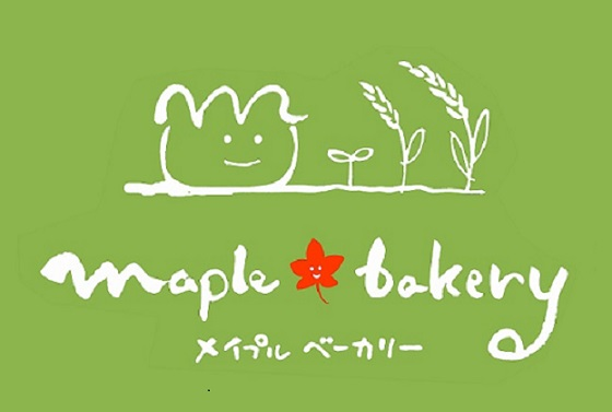 白抜きmaple bakery様