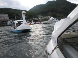 Haruna Swan-boat