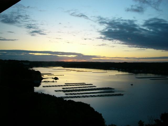 志摩賢島の朝日