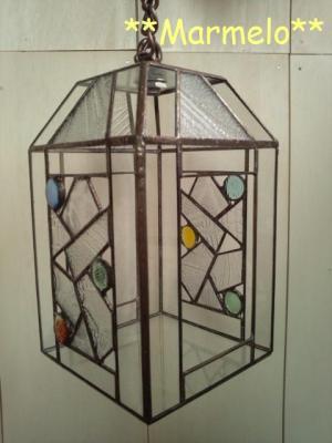 ステンドグラスのテラリウム