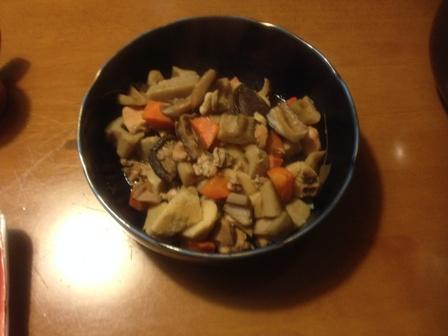 竹の子芋の煮物