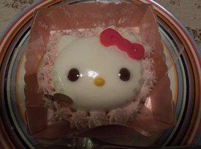 キティちゃんケーキでしゅ