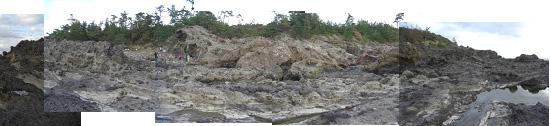福浦灯台下の海岸2