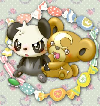 ヤンチャム&ヒメグマ