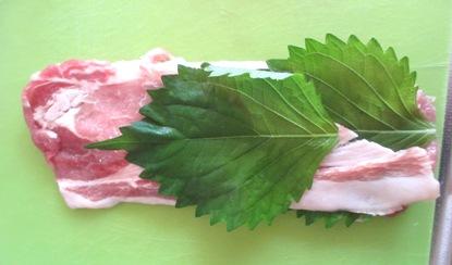 豚ロースのグルグル巻き焼き (3)