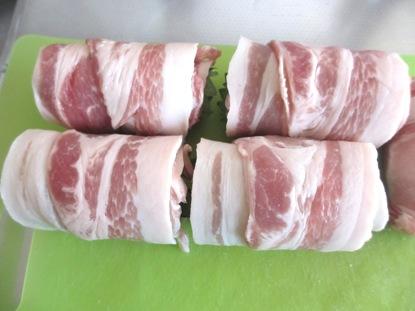 豚ロースのグルグル巻き焼き (1)