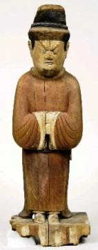 9世紀の神像