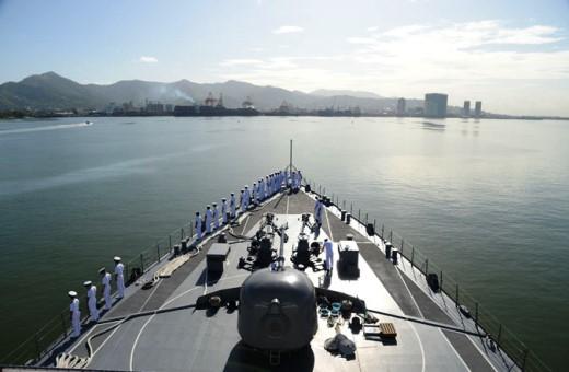 7月14日 ポートオブスペイン入港