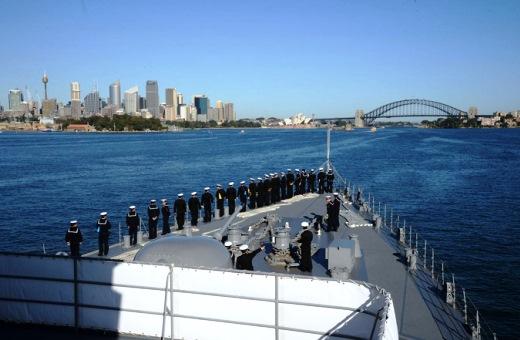 9月11日 シドニー入港